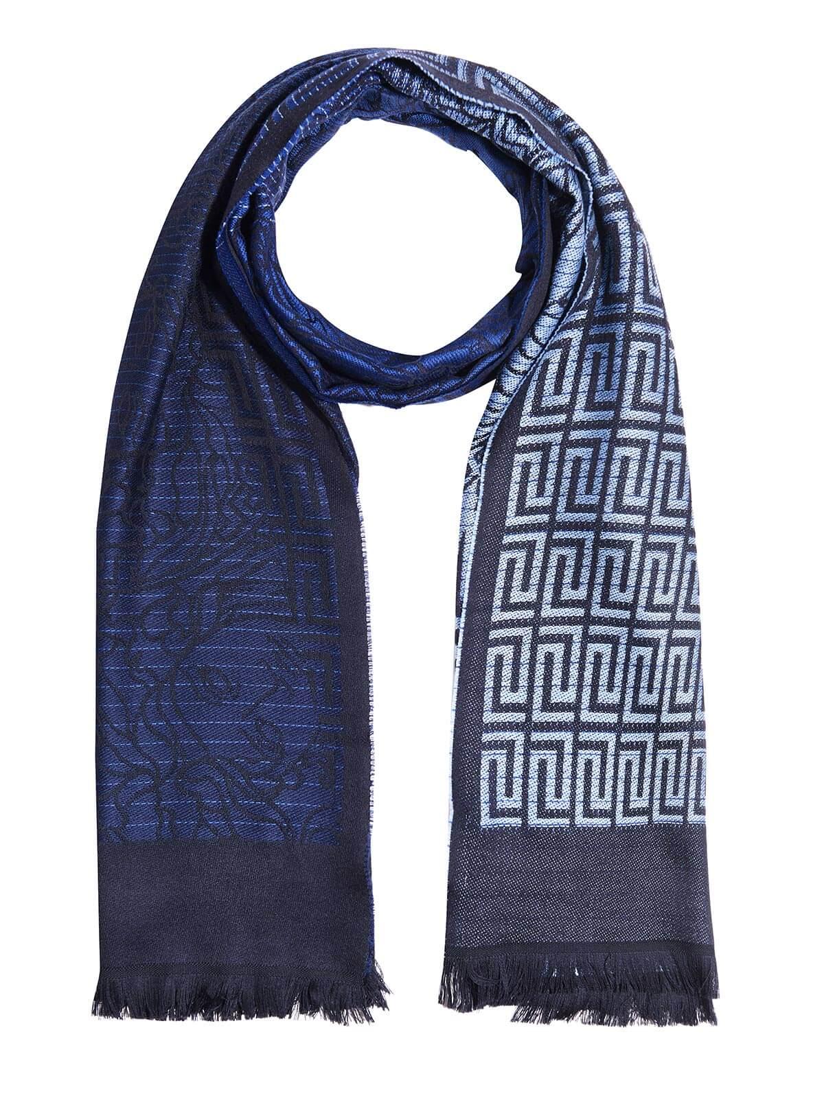 Versace Scarf, 200x70cm, Dark Blue by Versace
