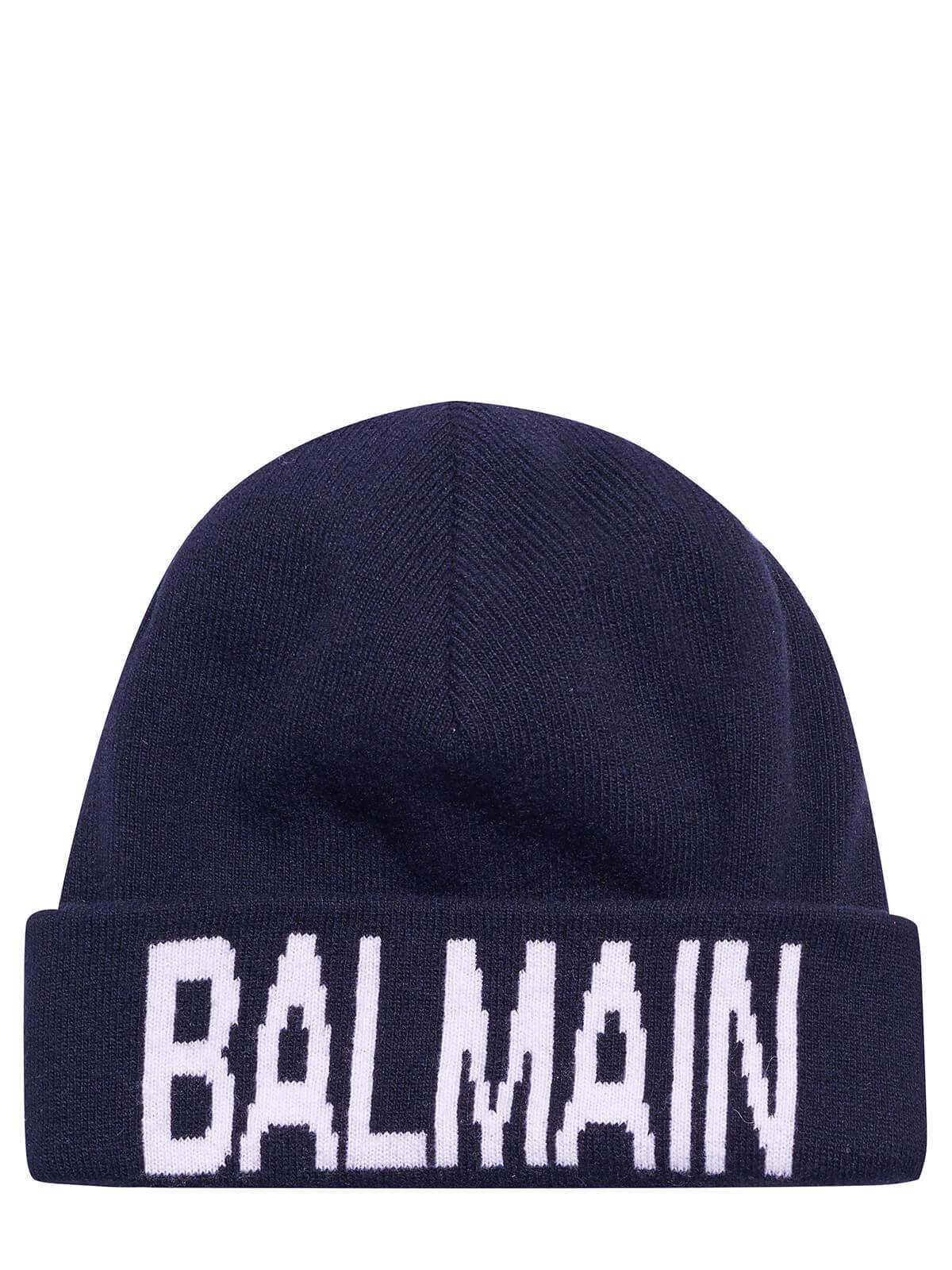 Balmain Cap Dark Blue by Balmain