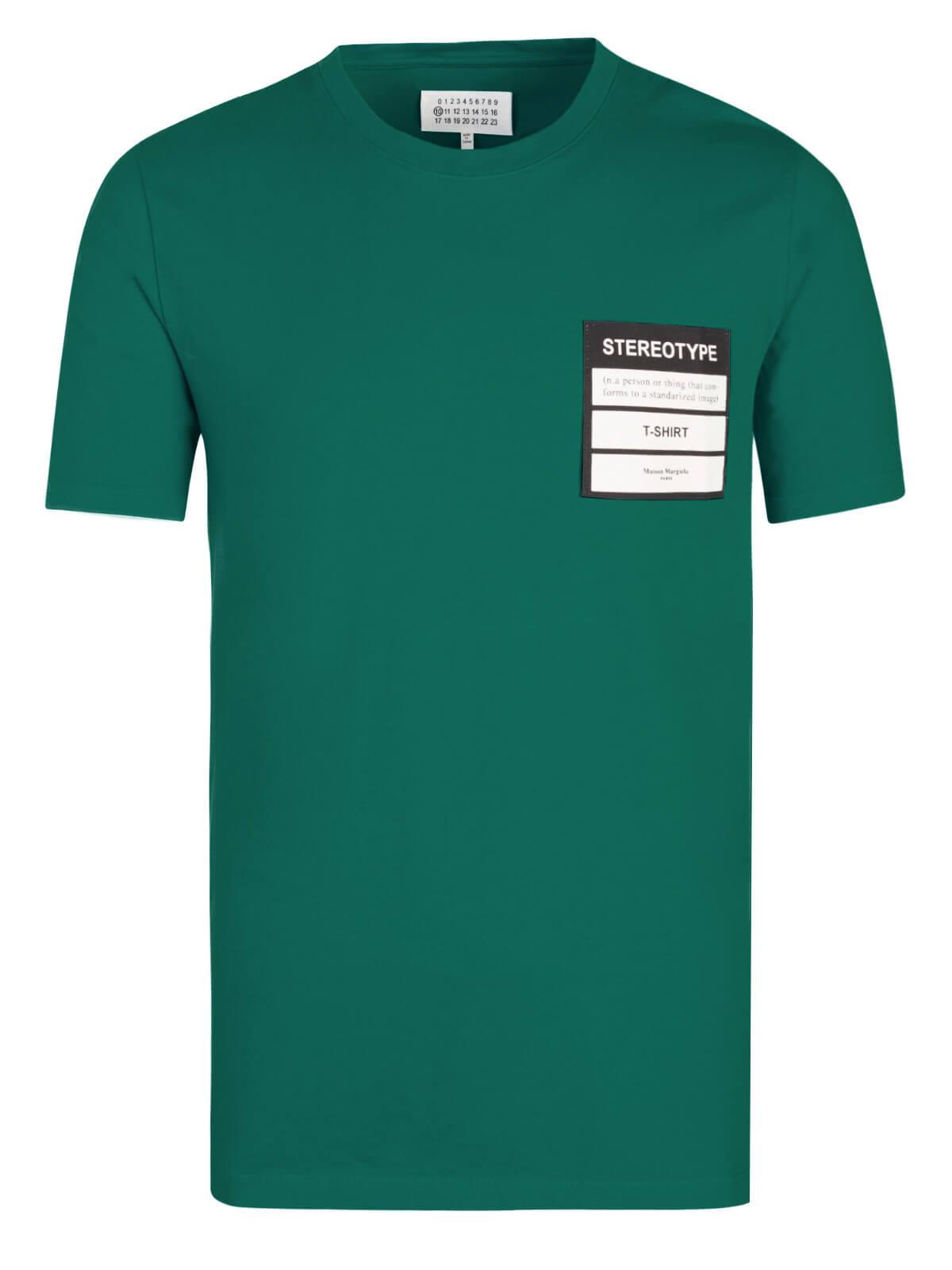 Maison Martin Margiela  T Shirt Green by Maison Martin Margiela