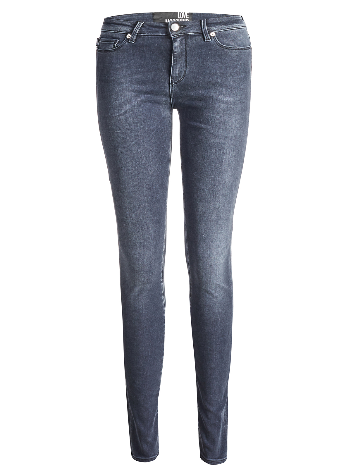 Love Moschino Jeans Black Grey by Love Moschino