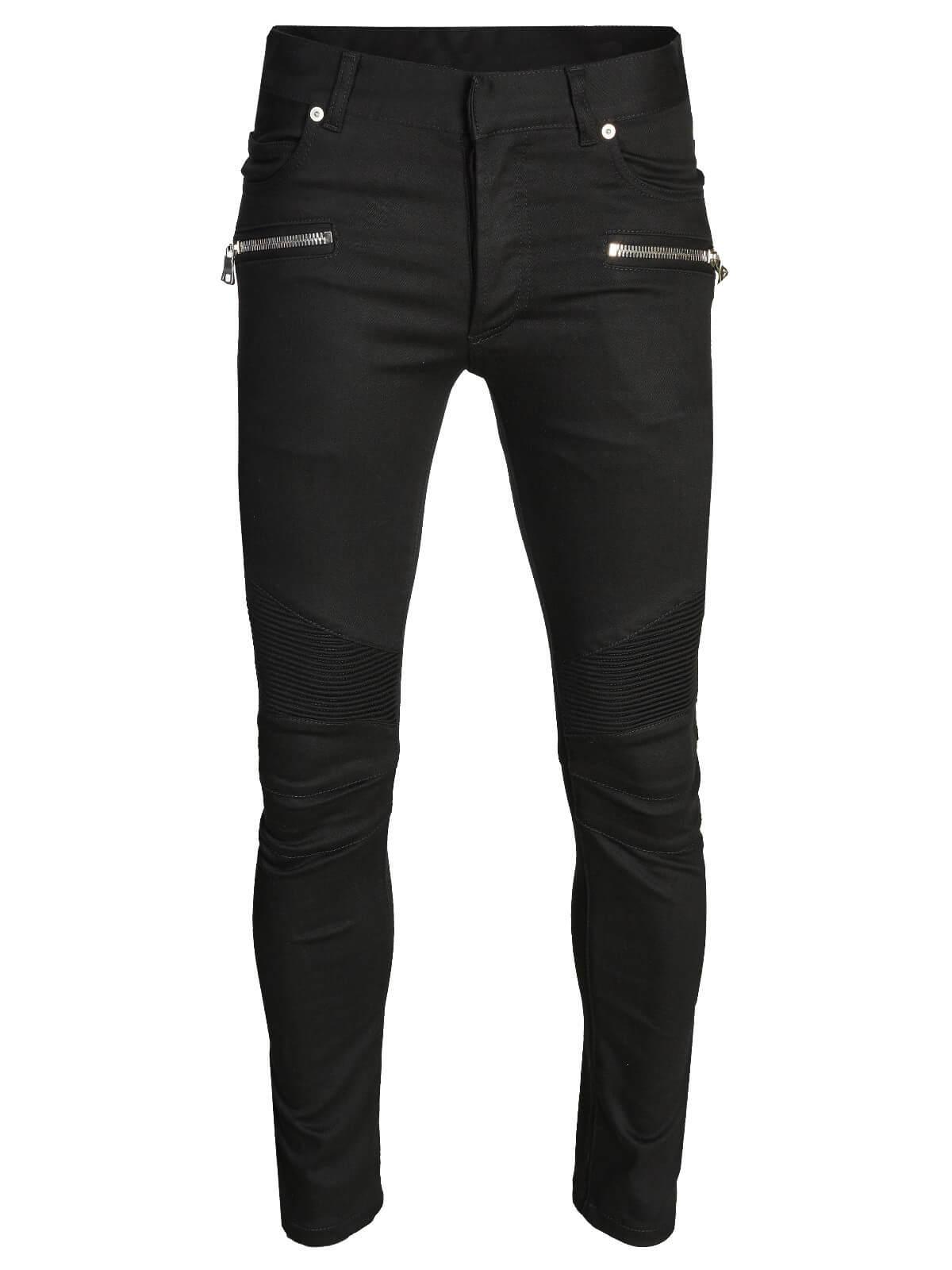 Balmain Jeans Black by Balmain