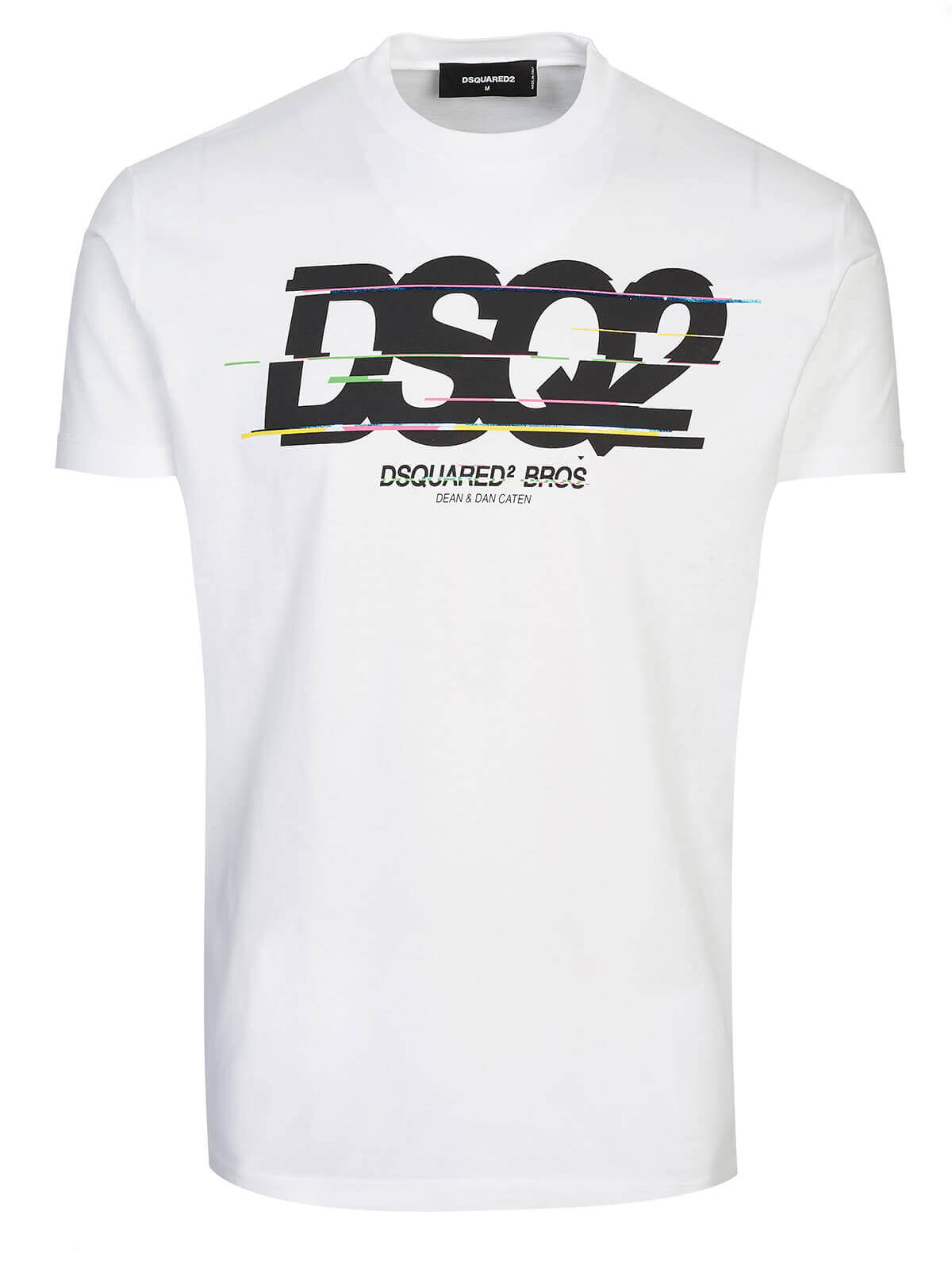 dsquared-t-shirt-white by dsquared