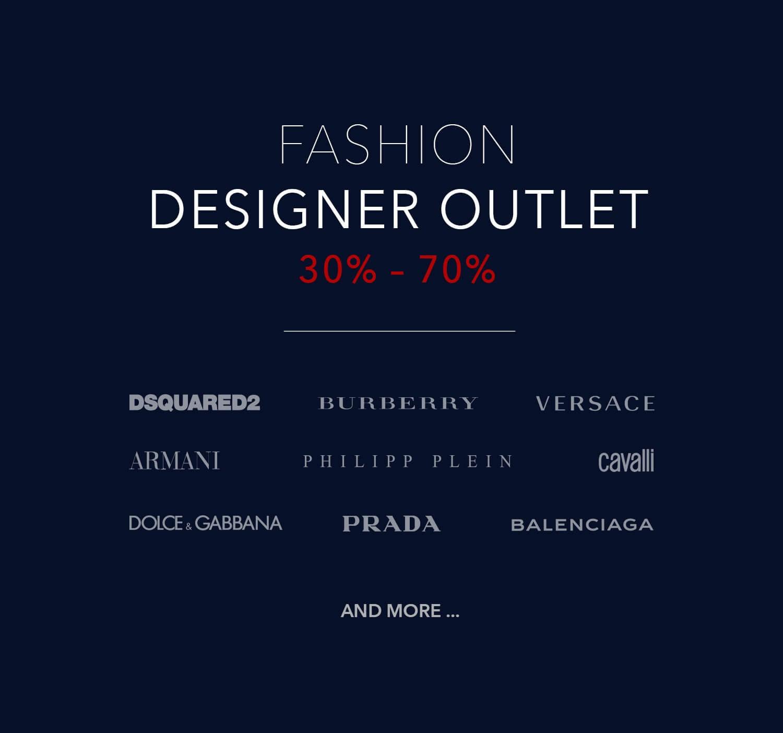 Designer Outlet & Fashion Brands up to 80% off | Fashionesta