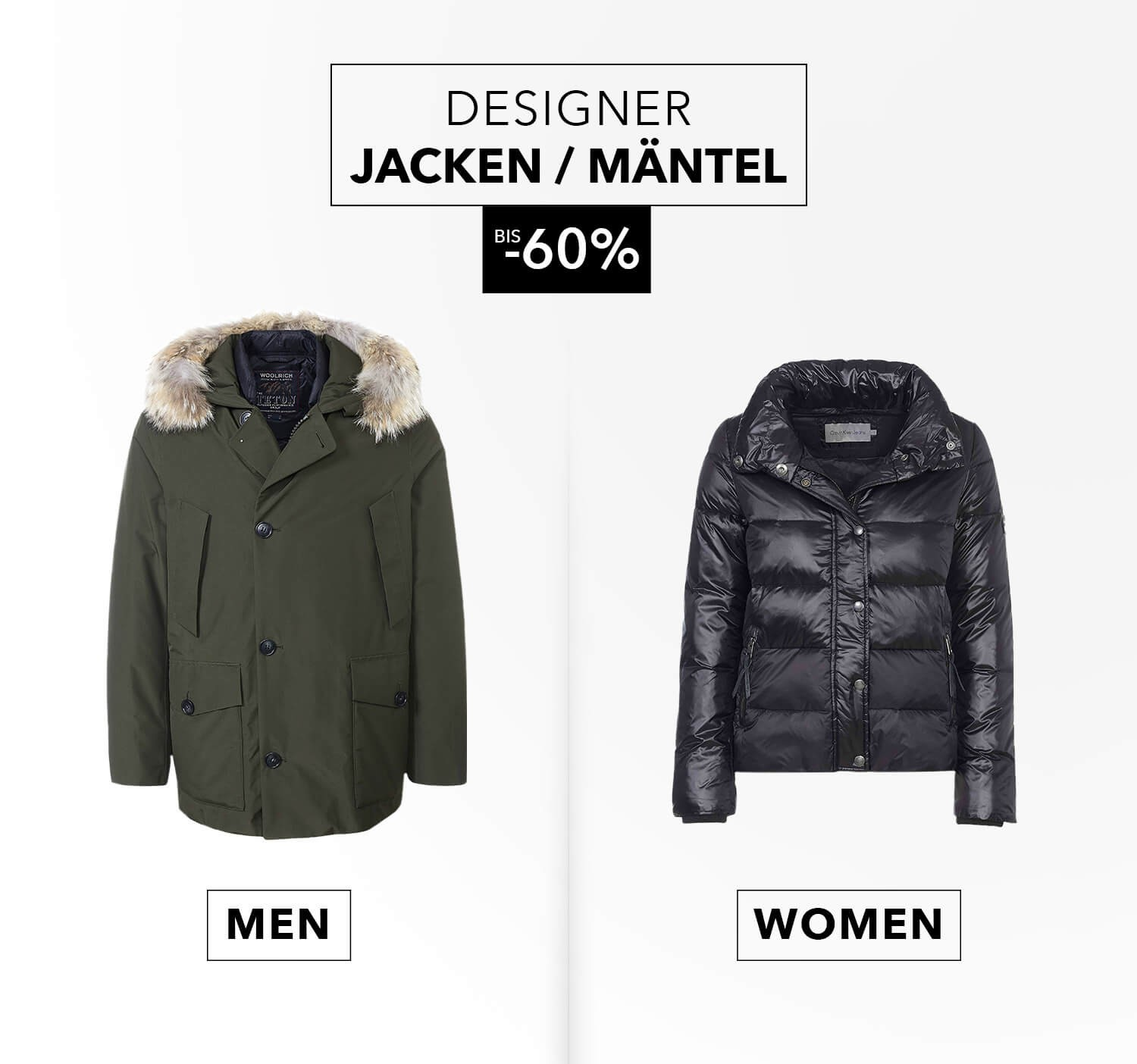 Designer Outlet & Fashion Brands bis 80% | Fashionesta